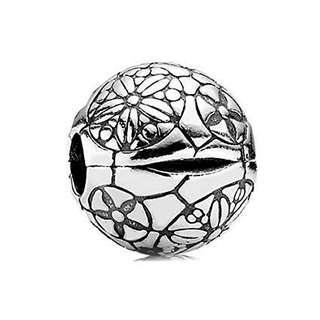 Pandora Flower Ball Clip