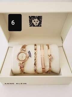 ANNE KLEIN Women's Watch Set