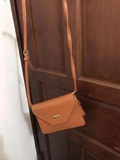 🚚 淺棕色信封包