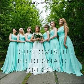 Bridesmaid Dress Customised