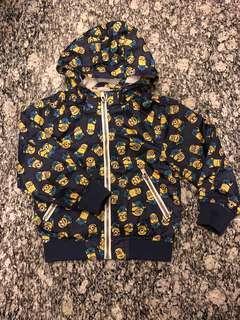 H&M jacket minion