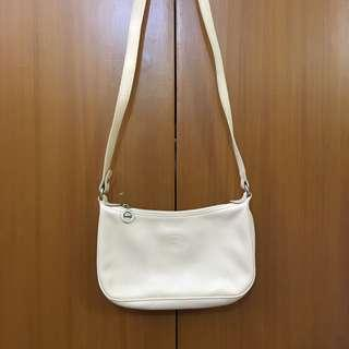 LONGCHAMP LEATHER SLING BAG