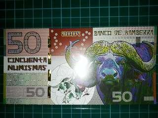 [Oceania] Canberra $50 Dollars Chinese Zodiac (Year of the Ox) Commemorative Polymer Note (2009 Series)