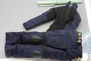 1/6 scale navy blue SAS uniform