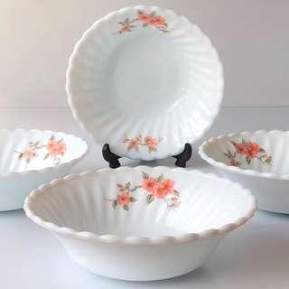 Vintage Bowl Vintage Collection Vintage Collectible Porcelain Vintage Plates and Bowls Set Serving Bowl Ceramic Bowl Rice Bowl Soup Bowl Dessert Bowl Cereal Bowls Salad Bowl
