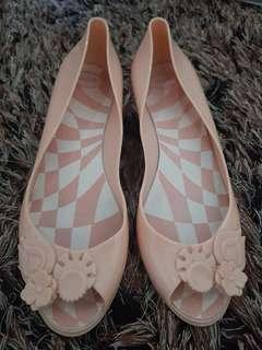 Peach Jelly Shoes
