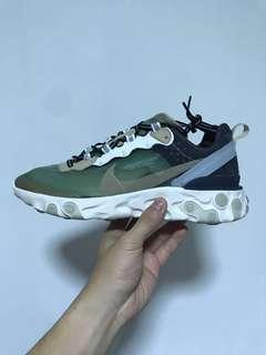 Nike React Element 87 x Undercover Green Mist US8.5
