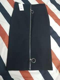 Elegant High Waist Pencil Skirt
