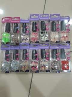 Press On manicure - Press & Go assorted fake nails #BEAUTY50