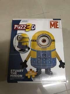Minions 3D puzzle Despicable Me