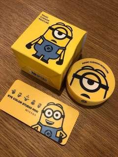 清屋大🈹️價 Minions bb cushion and eye shadow