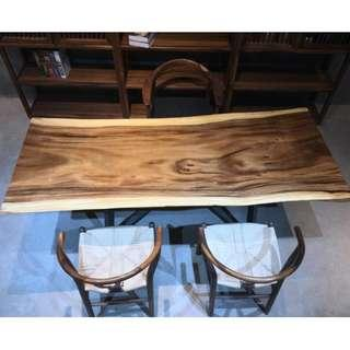 TSAW 039 South America Walnut Solid Wood Table office dining