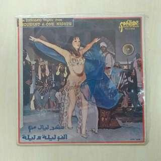 LP: Ten Dynamic Nights from Thousand & One Nights Album Vinyl Record