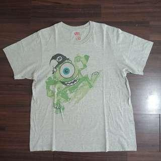 #maups4 Tshirt UNIQLO x DISNEY Monster Inc Original