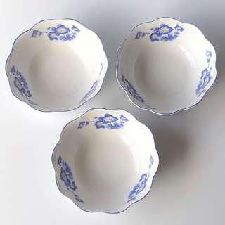 Vintage Bowl Vintage Collection Vintage Collectible Porcelain Vintage Plates and Bowls Set Serving Bowl Ceramic Bowl Rice Bowl Soup Bowl Dessert Bowl Cereal Bowls Salad Bowl Japanese Bowls