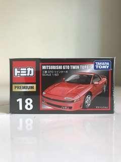 🚚 Tomica Premium 18 Mitsubishi GTO Twin Turbo