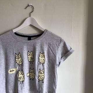 🚚 Owl Crop Tee