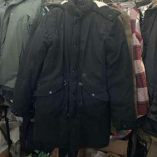 🚚 Asos 鋪棉連帽外套 短大衣 S號#衣櫃大掃除