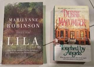 English novel LILA Marilynne Robinson touch by Angels book