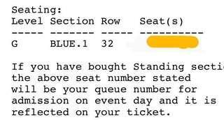 BTS Concert Tickets!