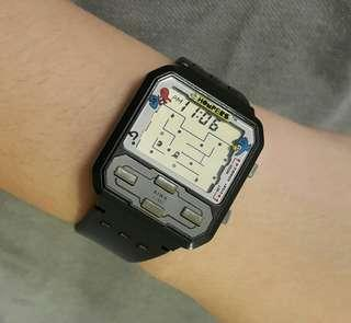 80年代食鬼遊戲機LCD手錶Chompers