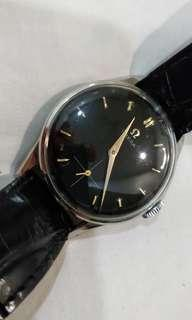 Omega vintage hand wind w small second