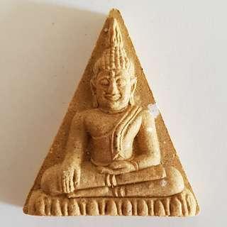 Phra Buddha (Brown) / Wat Phanan Choeng (Ayutthaya) 三宝佛公 / BE 2558