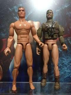 Military Action Figures set of 2