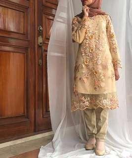 Kirana Beige Dress