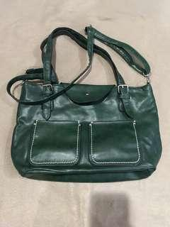 Green 2-Way Bag (FREE with 1500 purchase)