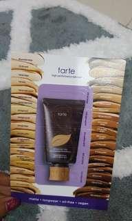 Tarte Foundation sample