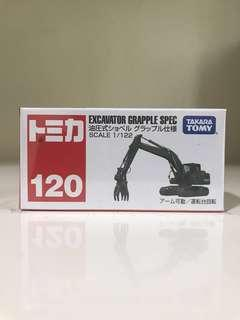 🚚 #120 Excavator Grapple Spec