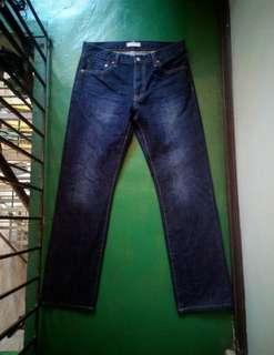 UNIQLO Regular Fit Straight Jeans (31)