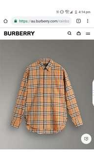 Burberry Rainbow Checked Shirt