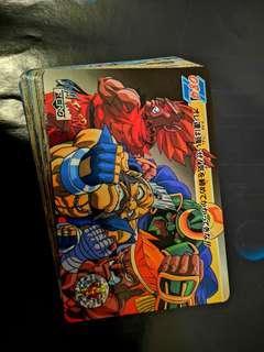 少年街霸Street Fighter Zero 2白咭一套共 36張