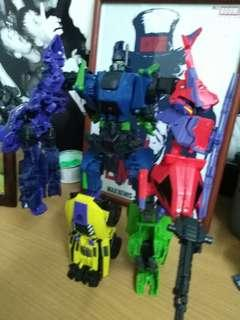 Transformers - Combaticon combiners Bruticus