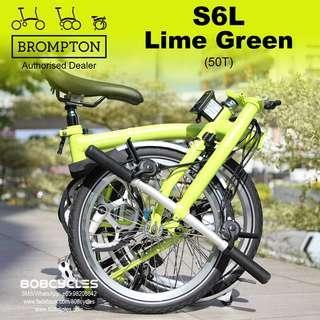 BROMPTON S6L Lime Green