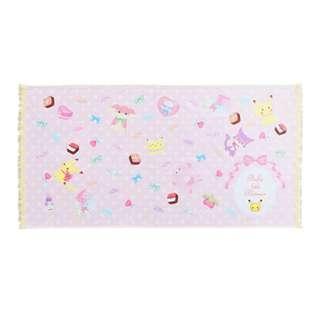 [PO] Pokemon Japan Fluffy Little Pokemon Mini Bath Towel