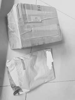 Customers items Arrived .. meteorite emas, geliga lipan bara.  next batch waiting Minyak siluman ,Myk bertap Emas dan myk heli dumbuk