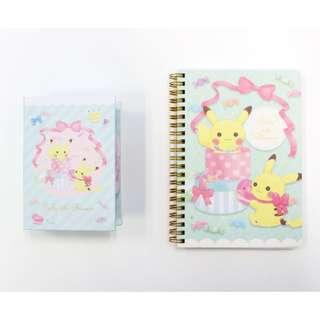 [PO] Pokemon Japan Fluffy Little Pokemon Box Memo Set / B6 Ring Note