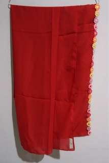 Preloved Hijab Segiempat Allsscarft