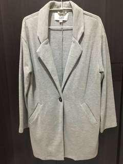 Preloved Pull&Bear Gray Coat