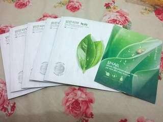 Masker Nature Republic Premium (ambil semua 6 pcs)
