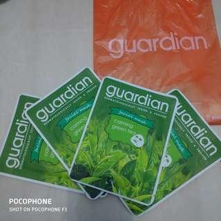 Masker green tea guardian