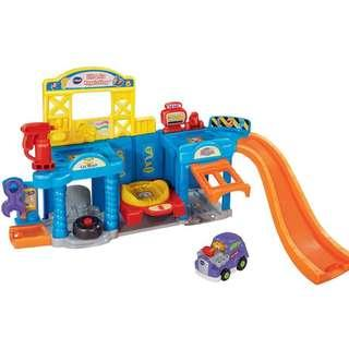Vtech Smart Wheels Toot Toots Auto Repair Center Playset