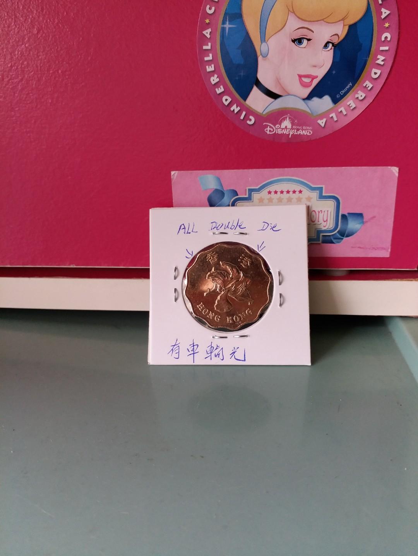 有車輪光的錯币贰圆