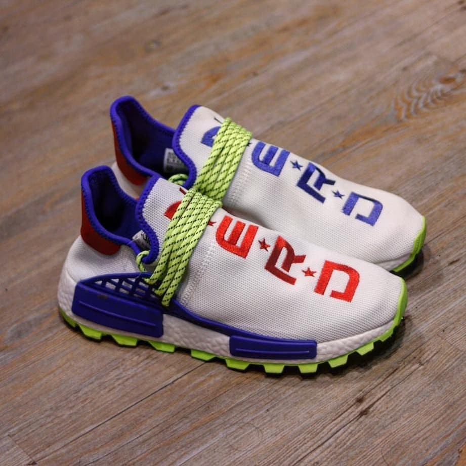 new arrival 2f8ac 98814 Adidas nmd human race NERD white