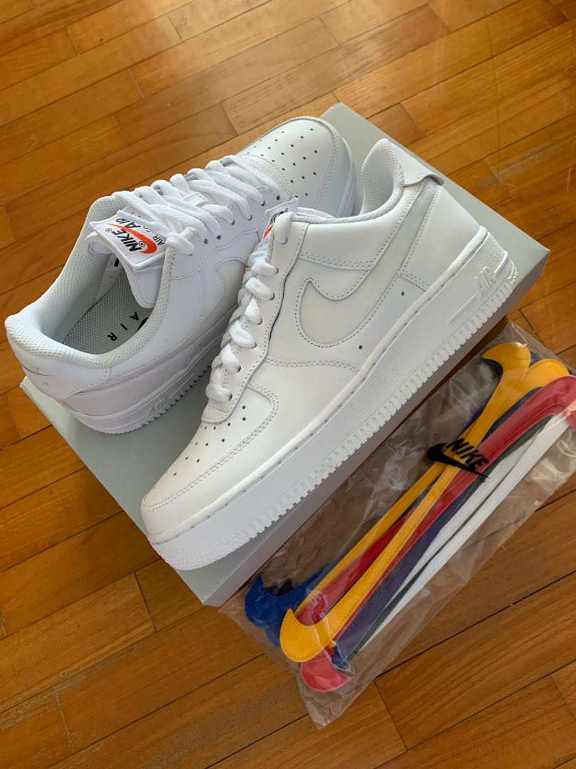 info for 0eb04 4f1de Air Force 1 Low Swoosh Pack All-Star 2018 White