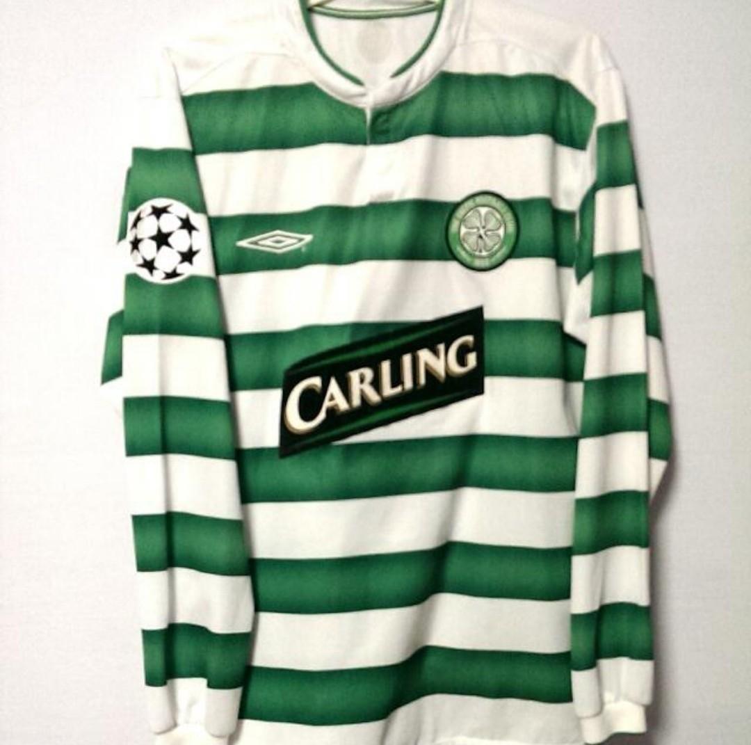 hot sale online 69701 c95c8 Authentic Umbro Celtic Vintage Size Small, Sports, Sports ...