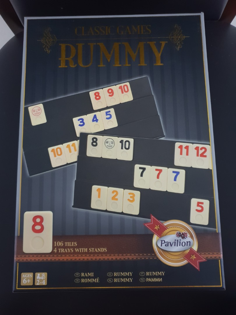 Board Game (Classic Games) RUMMY